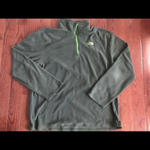 The North Face 1/4 Zip Sweater Pullover XL
